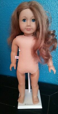 AMerican Girl Doll Nicki Doll of the Year  with stand tlc hair