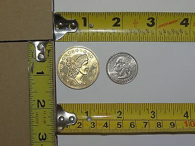 1776-1976 Bicentennial Token Liberty Head & Eagle Seal of the United States