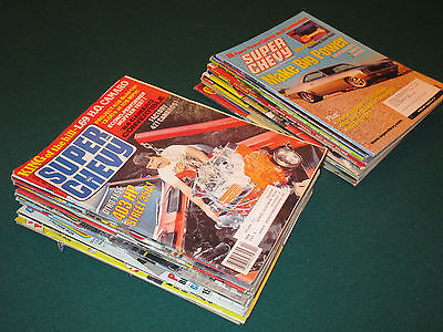 Lot of - 30 - Super Chevy (1975 - 2005) - Car Magazines