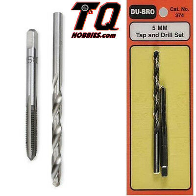 DuBro 374 Tap & Drill Set 5mm Fast Ship with Track#