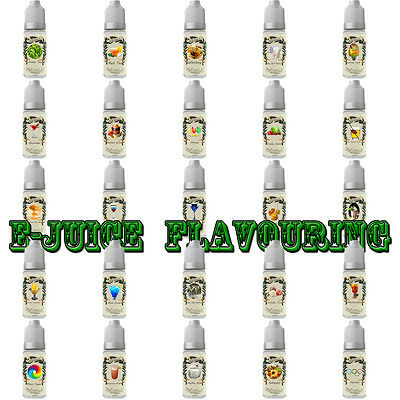 "E DIY ""Juice"" flavors - Food Grade Concentrate - Over 110 Kind of Flavoring  タ"