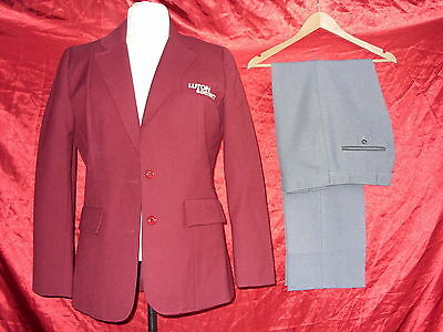 Ladies bus jacket & trousers - Luton District - Size 14, 34L - 0076