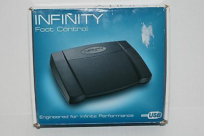 Infinity IN-USB-2 Foot Control USB Foot Pedal Transcription / Good workin order!