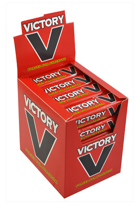 24 Packs Of Victory V Lozenges Packs Retro Sweets Candy Low Price & Free Postage