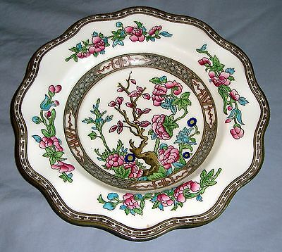 "Coalport China INDIAN TREE 5-3/4"" RUFFLED BREAD & BUTTER PLATE"