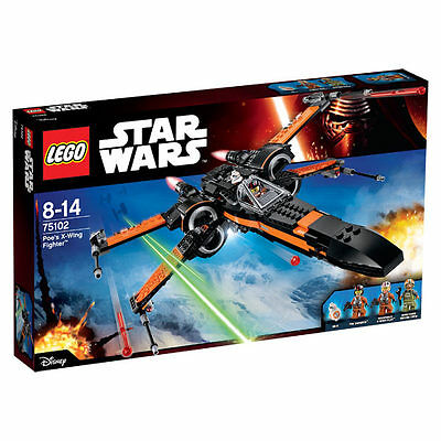 LEGO STAR WARS 75102 - X-Wing Fighter - NEUF ET COMPLET