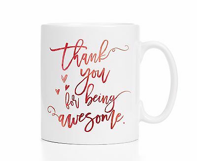 Employee Gift Employee Mug / Thank You For Being Awesome / Employee of the Month