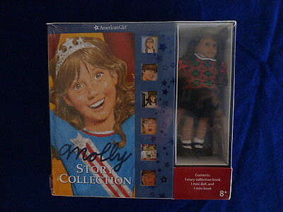 Molly Story Collection, Mini Doll & Book - Retired & Rare - NIB & FREE SHIPPING!