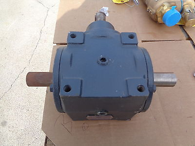 Hub City Speed Reducer Model # 66  Style Ab Ratio  1  To 1 - New