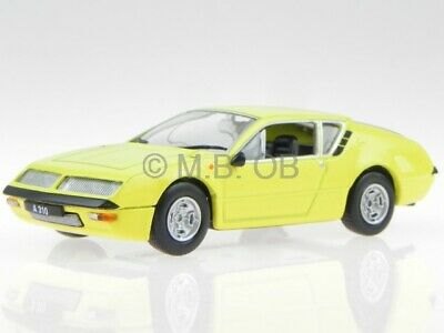 Renault Alpine A310 1600 gelb 1972 Modellauto WB160 Whitebox 1:43