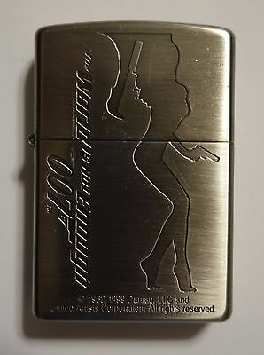 Rare Zippo Lighter 007 James Bond The World Is Not Enough Official