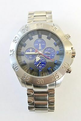 Android AD693 Tunnelgraph 51mm Case Quartz Stainless SS Case and Band Blue Dial