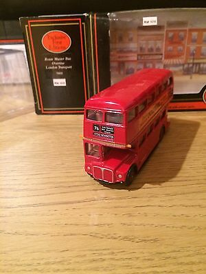 EFE Routemaster Bus - Overtine - London Transport 15602 Rt. 76 1/76