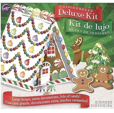 Wilton Deluxe A-Frame Gingerbread House Kit