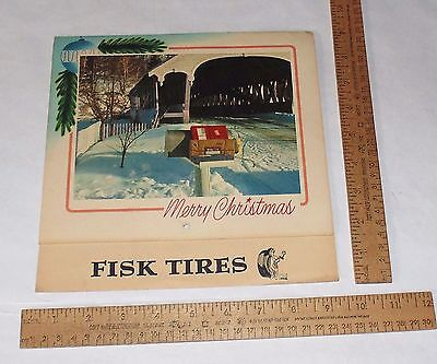 1956 Calendar - FISK TIRES - GALLAGHER TIRE & SUPPLY CO., Billings, Montana - #2