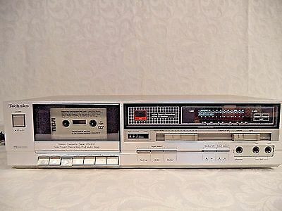 Vintage Technics Stereo Cassette Player RS-B12 with Manual