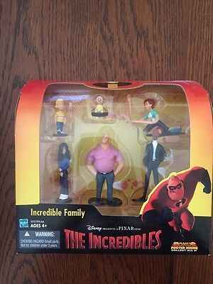 Disney's The Incredibles - Family Figure Toy Set