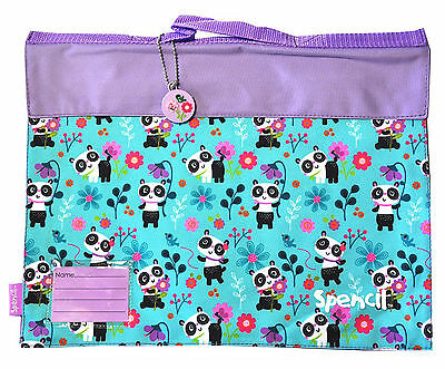 Spencil Library Book Bag-Panda Love-LIMITED STOCK SPECIAL!