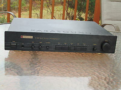 Parasound PHP-850 Preamplifier, perfect condition, Audiophile !