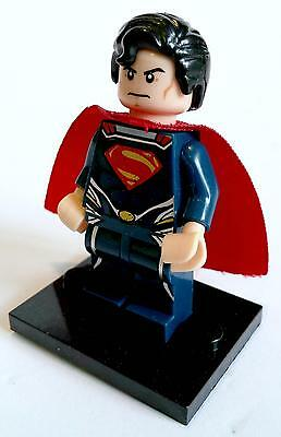 Superman Minifigure - new in bag - Lego compatible figurine figure super man
