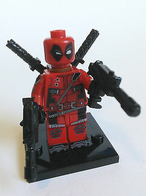 Deadpool Minifigure 2 - new in bag - Lego compatible - fast free post - figure