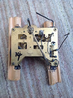 Antique clock movement 14 - Forester 150