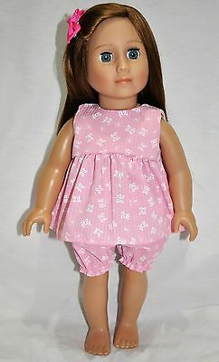 """American Girl Doll Our Generation Journey Gotz 18"""" Dolls Clothes Summer Pj's"""