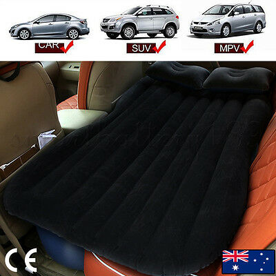 Inflatable Travel Holiday Camping Car Seat Sleep Rest Spare Mattress Air Bed AU