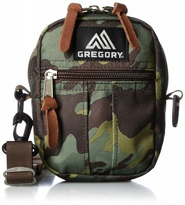 GREGORY Quick Pocket S Shoulder Bag DEEP FOREST CAMO Green Camoflage Outdoor