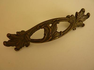 "Vintage Large 5 3/4"" Brass French Provincial Drawer Pull"