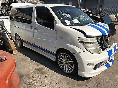 nissan elgrand e51 rider parts wrecking elgrand vq35de engine gearbox doors e51