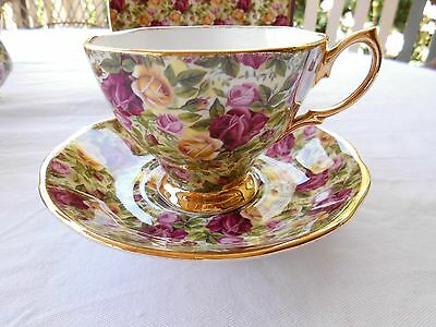 Royal Albert CHINTZ Made in England, Cup/Saucer