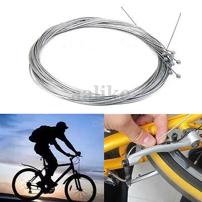 5/10pcs Bicycle Bike Shift Shifter Derailleur Gear Brake  Inner Wire Cable 2M