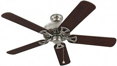 Harbor Breeze Clic Brushed Nickel Residential Ceiling Fan