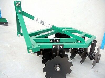 HAYES 4FT 3PL TRACTOR DISC HARROWS - OFFSET (3 Point Linkage)