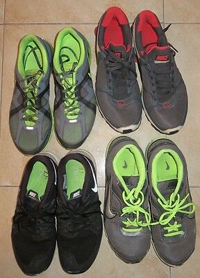 Lot of Size 12 Mens Shoes NIKE Athletic Gym