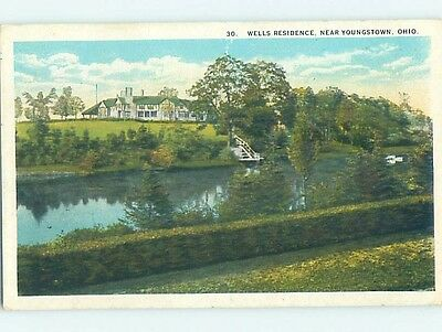 W-Border WATER SCENE Youngstown Ohio OH hk2791