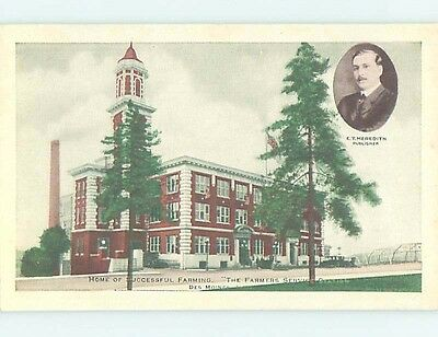 Unused Divided-Back POSTCARD FROM Des Moines Iowa IA HM5658
