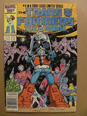 Transformers The Movie #1 2 3 Marvel 1986 Series Newsstand Edition 9.2 NM-