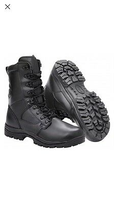 ***BRAND NEW & Boxed Magnum Elite II Black Leather Waterproof Boots, Size 8***