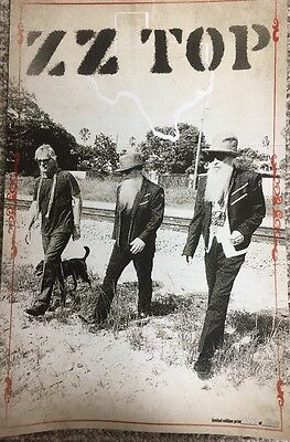 ZZ TOP VIP Package Memorabilia Limited Edition Poster