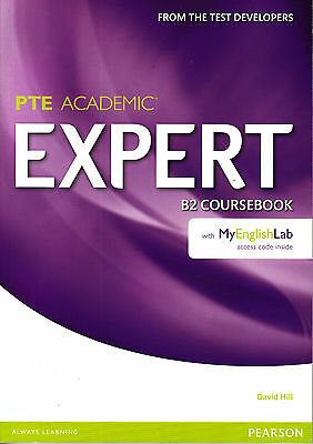 Pearson PTE ACADEMIC EXPERT B2 Coursebook with MyEnglishLab Access Code @NEW@