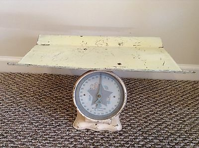 Vintage Baby Nursery Scale Weights 30 pounds by ounces w/ Star & Babies on Dial