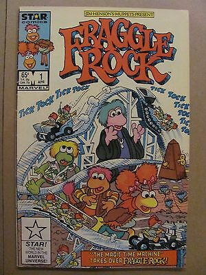 Fraggle Rock #1 #2 #3 Star Marvel Comics 1985 Series
