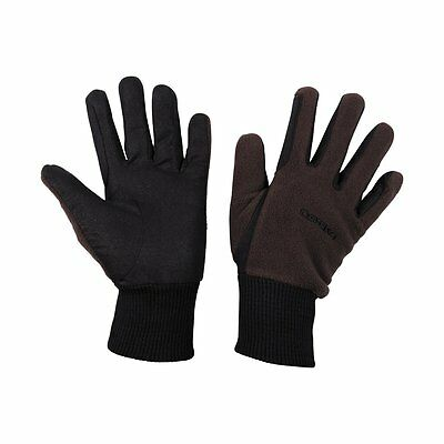 CATAGO Gloves made of Fleece - brown Riding Horse Accessories Sports