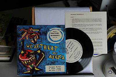 Traditional Instrument - Hearth Beat Of Africa - Vinile - 45 Giri - 7""