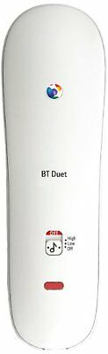 BT Duet 210 Corded Telephone White Home Phone LED Call Indicator Wall Mountable