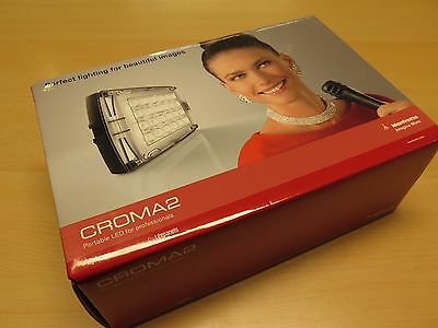 Manfrotto Croma 2 LED VIdeo/ Photography LED Light - UNUSED - Mains/ Battery