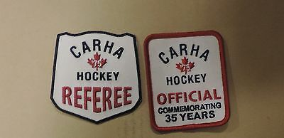 CARHA Hockey, Referee Official Patches, Commemorative, Jersey, Uniform(3 pieces)