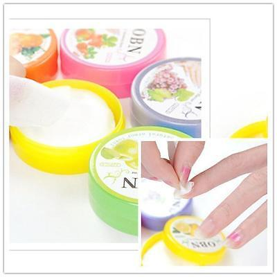 CA 32x Flower Flavor Nail Art Polish Vanish Remover Pads Wet Wipes Paper